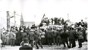 LIBRARY CORNERSTONE CEREMONY1908