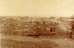 after 1888 fire from so of town