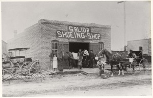 shoeing shop