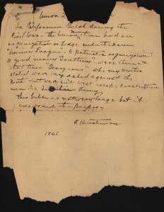 1862 letter from bible