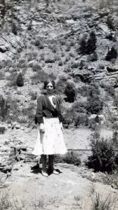 Florence Tracy in Colorado 1932